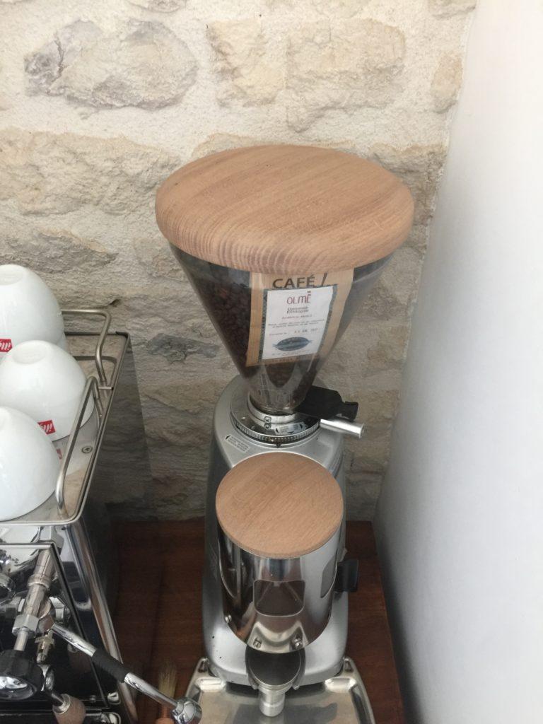 Photo cafetière à grain